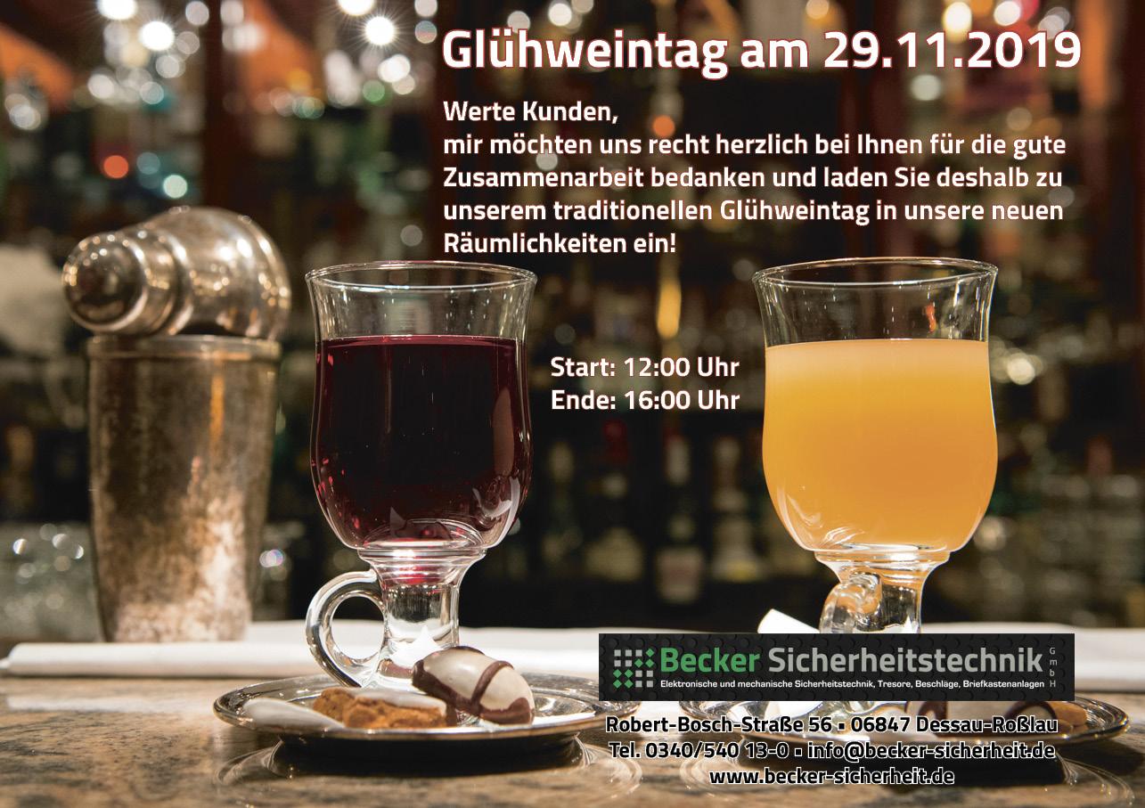 Glühweintag am 29.11.2019